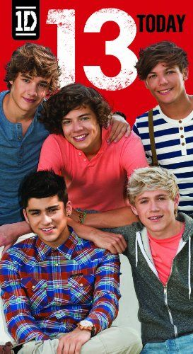 Danilo One Direction Age 13 Birthday Card One Direction Http Www Amazon Com Dp B0066a138g Ref Cm Sw R One Direction Birthday One Direction Ages 13th Birthday