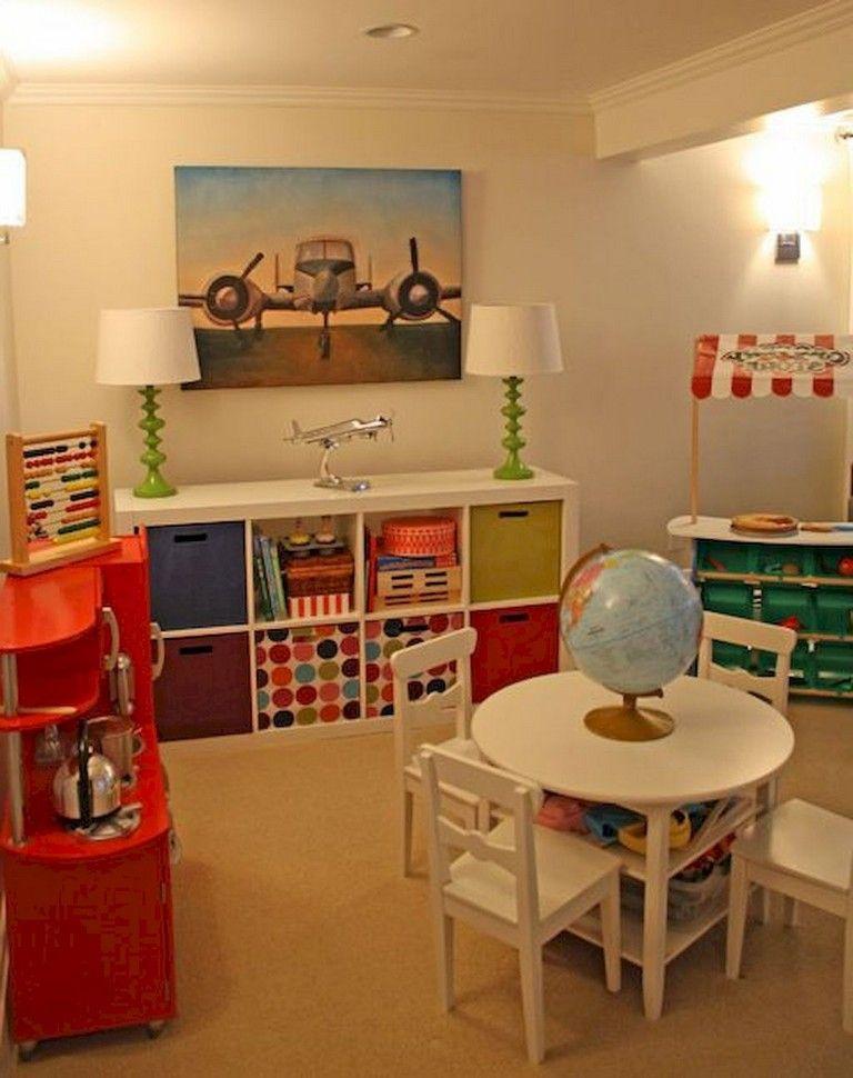 54 Adorable Basement Playroom Decorating Ideas Playroom Playhousebuildingplans Decoratingideas Playroom Decor Diy Playroom Playroom Decor Diy
