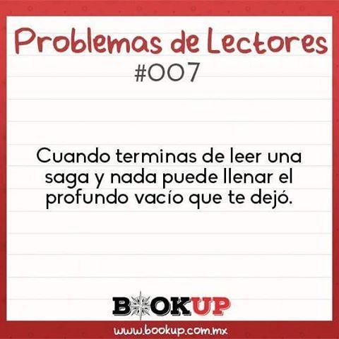 #ProblemasdeLectores #CosasdeLectores #BookUpMx