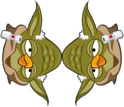 ANGRY BIRDS STAR WARS Christmas Tree Holiday Decor Garland dual