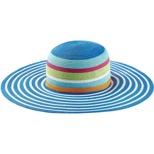 Missoni Mare Sun Hat ($305) ❤ liked on Polyvore