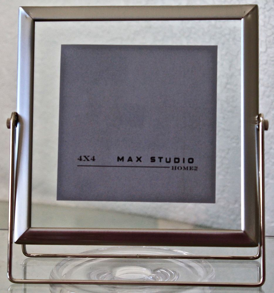 Max Studio Home Picture Frame 4 By 4 Metal New Maxstudiohome