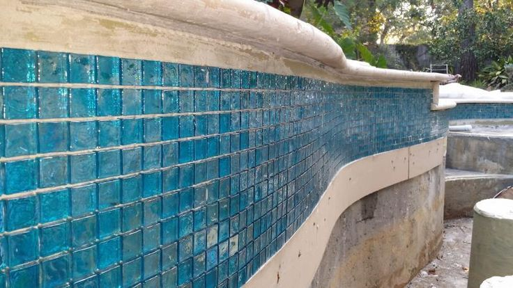 Waterline Pool Tile Ideas glass mosaic pool tiles light blue ref 110 you can see we have a Mosaic Waterline Tiles For Sale Google Search