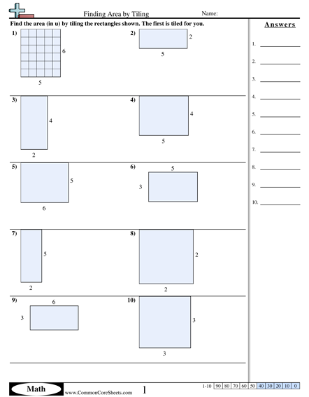 3.md.7a Worksheets | Area and Perimeter | Pinterest | Worksheets ...