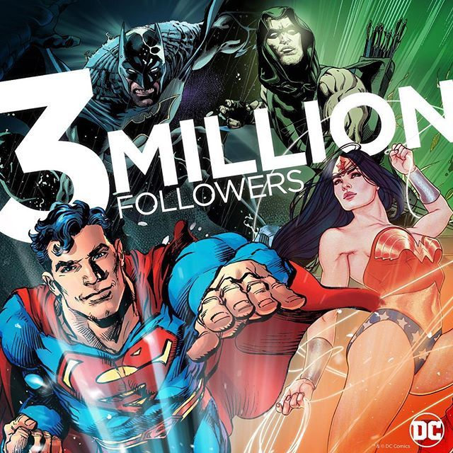 Thank you to the greatest fans ever for taking us to three million followers! We love bringing you the latest DC news, previews, and recaps every week!