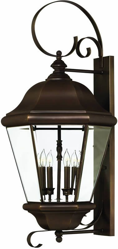 0 034092 36 H Clifton Park 4 Light Extra Large Outdoor Wall