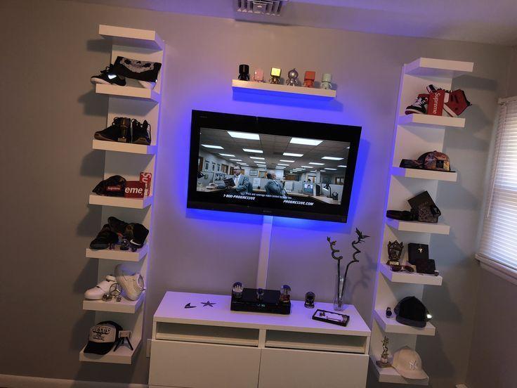 Idées de chambre cool pour les adolescents | Idées de bricolage - Cool Bedroom Ideas for Teenagers | DIY Room Ideas    #hypebeast #hypebeastbedroom #supreme #supremebedroom Chambre Hypebeast Meubles Hypebeast Ikea | Idées de chambre d'adolescent Ikea | Idées de chambre d'adolescent | Idées de chambre cool pour les gars | Gris