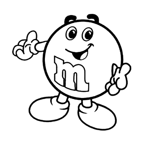 m&m coloring pages M&m Coloring Page | Embroidery designs | Pinterest | Vinyl decals  m&m coloring pages