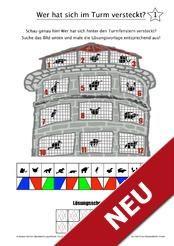 arbeitsbl tter zur optischen differenzierung arbeitsbl tter legasthenie dyskalkulie. Black Bedroom Furniture Sets. Home Design Ideas