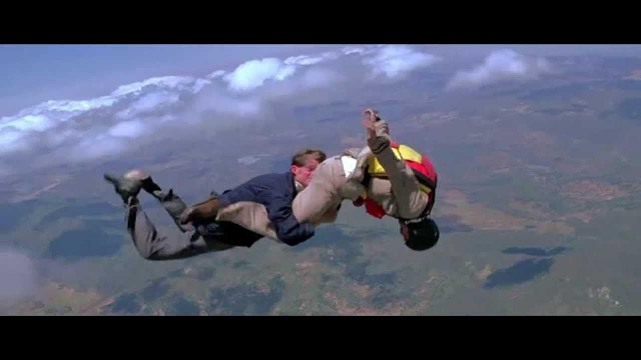 Moonraker Parachute Scene Skydiving Blockbuster Movies Great Movies