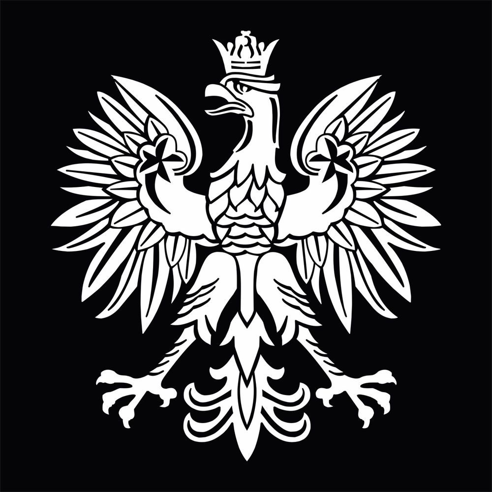 Me meaning of polish flag - White Polish Eagle Symbol Emblem Coat Of Arms Orze God O Vinyl Decal Sticker