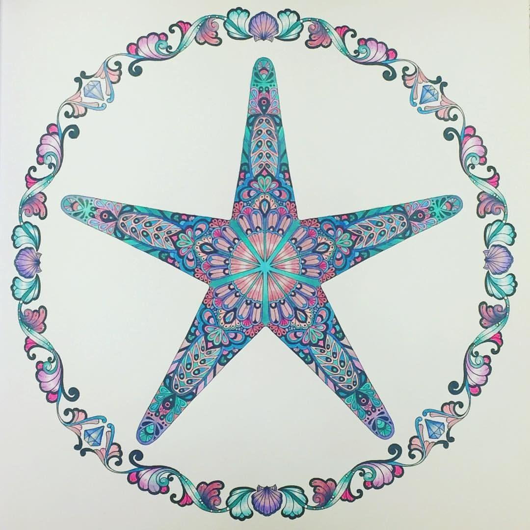 This Star Fell Into The Lost Ocean Johannabasford Lostocean