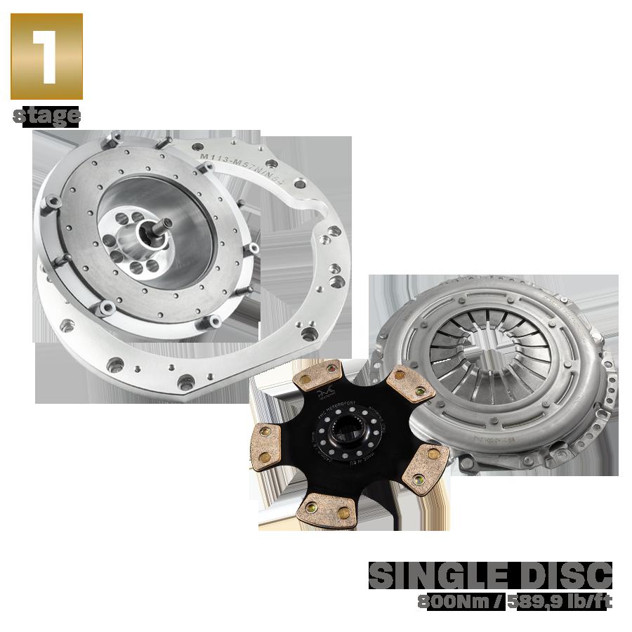 Manual Conversion Kit (adapter adaptor) Mercedes Benz M113