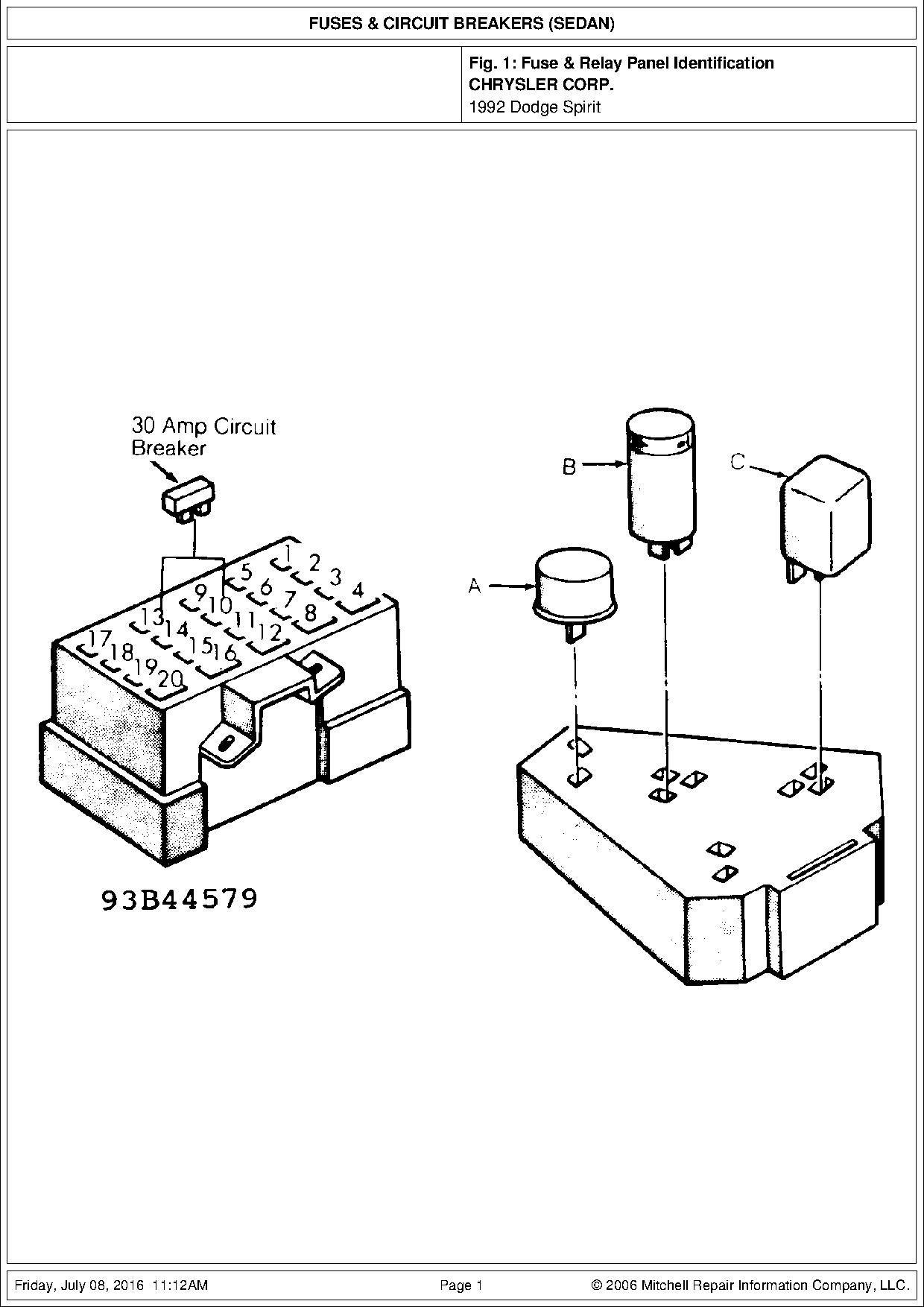 diagrama de caja fusibles winstar