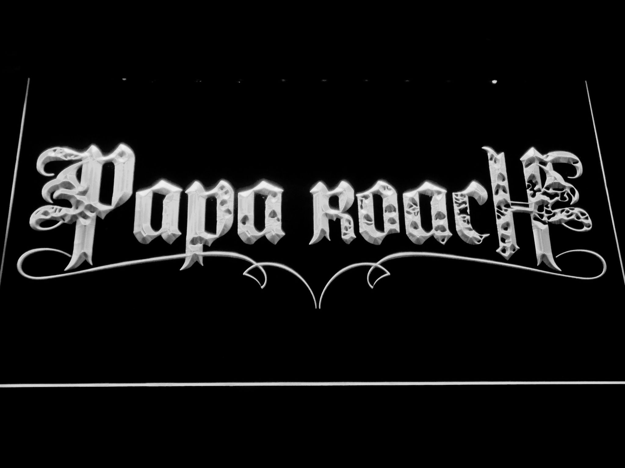 Papa Roach Led Neon Sign Led Neon Signs Neon Signs Cool Bedroom Accessories