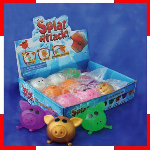Hot Selling Colorful Pig Head Splat Ball | Splat balls ...