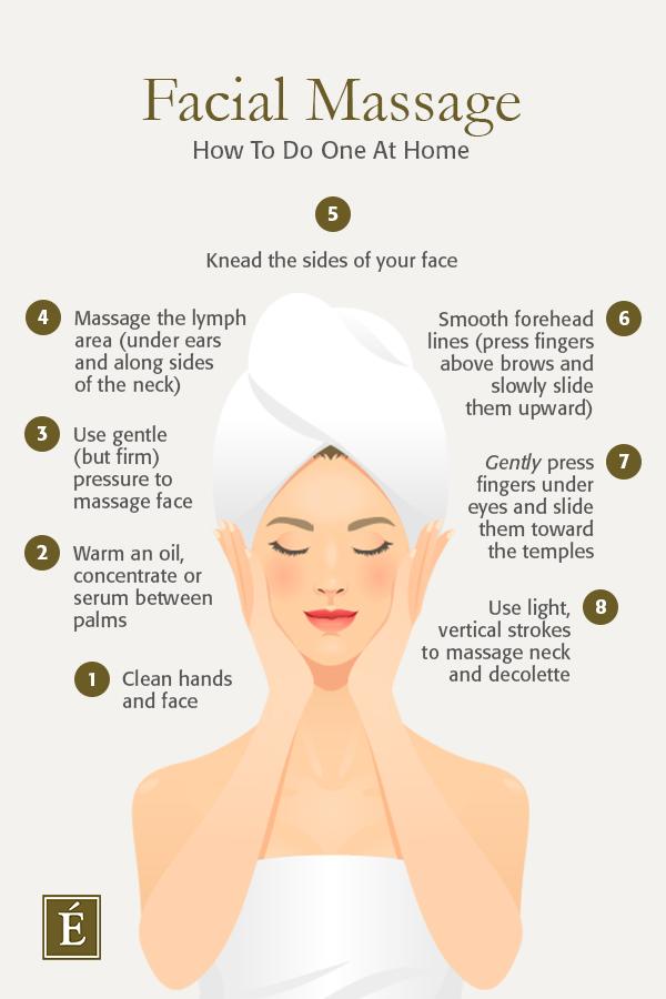 How To Do A Facial Massage At Home Facial Massage Facial Skin Care Facial Massage Steps