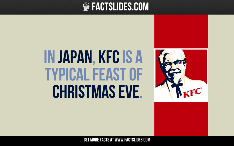 In Japan, KFC is a typical feast of Christmas Eve. | Random ...