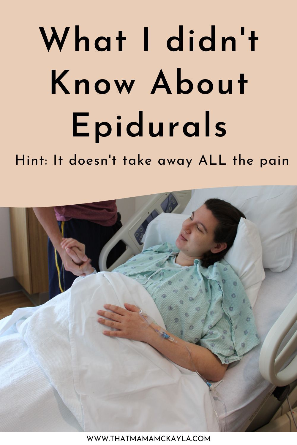 What I didn't know or expect when prepping for birth and getting an epidural in the hospital. Discover how the birthing experience can be different for everyone even when standardized medicine is used. #firsttimemom #birthstory #birth
