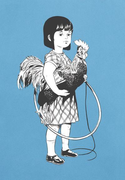 ☆ Rooster Girl :¦: Artist Señor Salme ☆