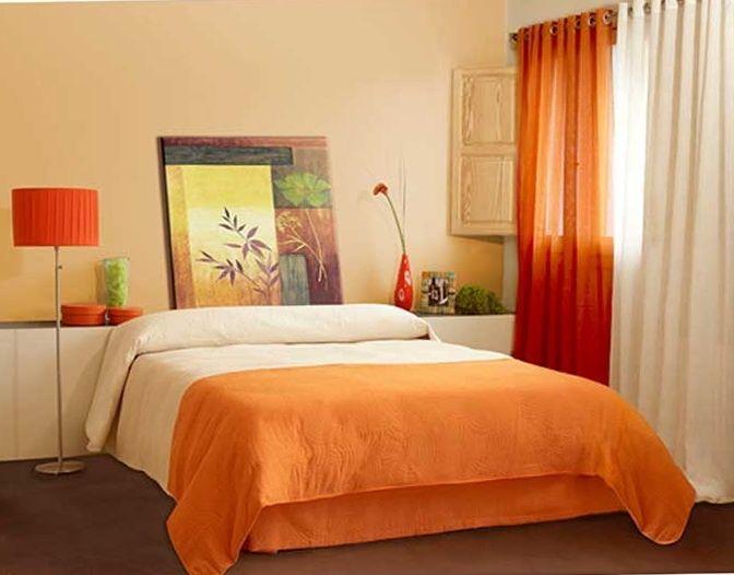 Sofa naranja de que color pinto las paredes buscar con google decoracion pinterest - Sofas para habitacion ...