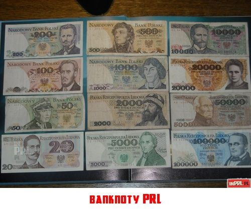 Money in the PRL