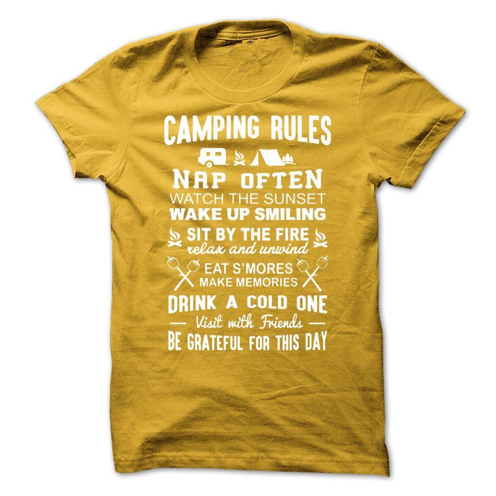 camping rules in 2020 Camping rules, Camping, Rules