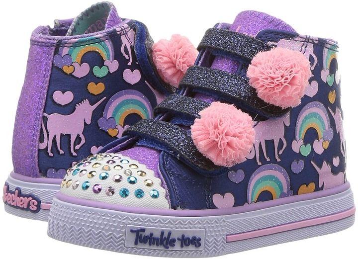 Skechers Twinkle Toes Shuffles 10813N Lights (Toddler