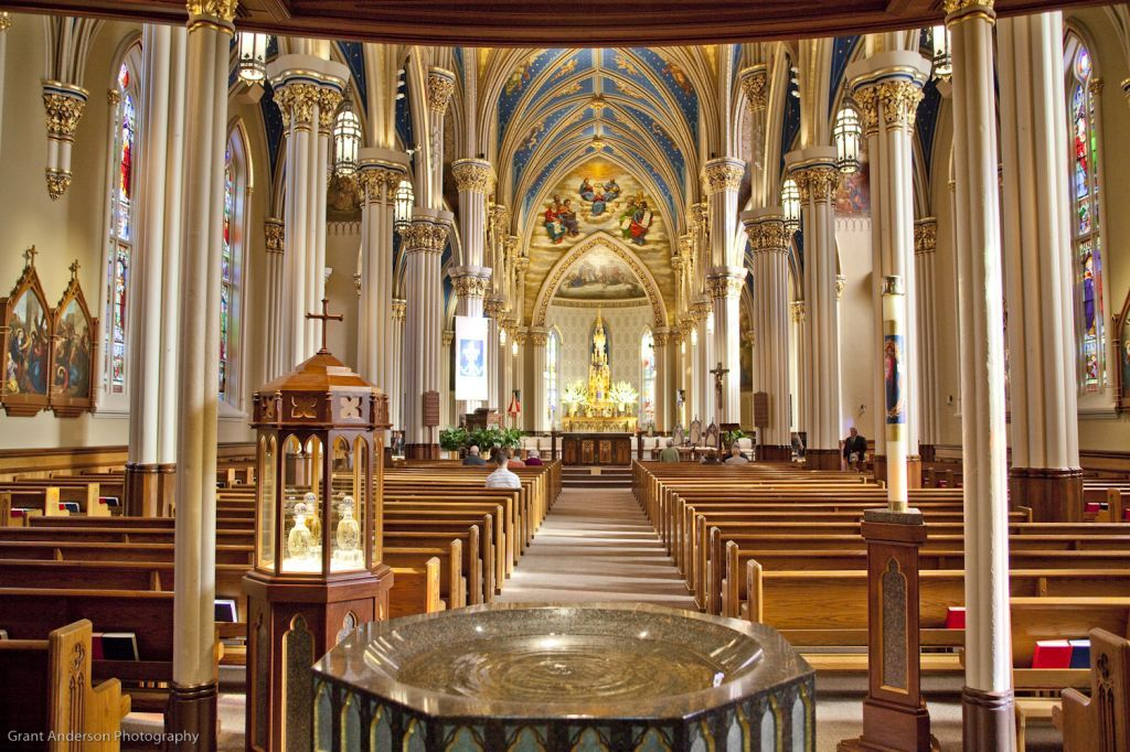 Basilica of the Sacred Heart Notre Dame, University Old