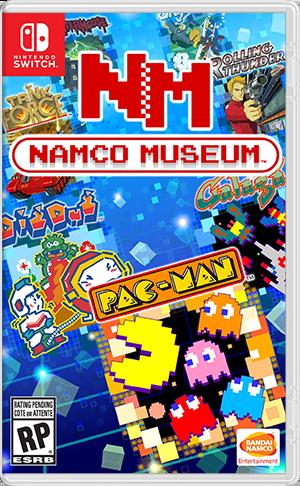 Namco Museum Box Art Video Games Pinterest Nintendo Juegos