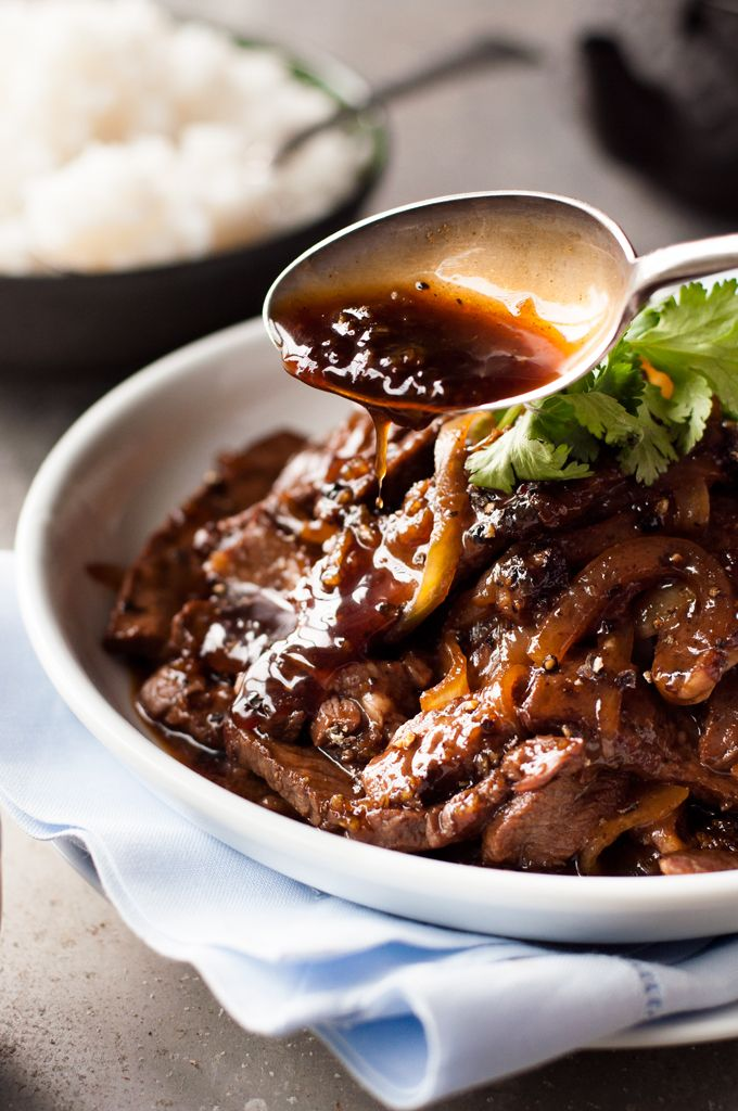Beef Stir Fry With Honey And Black Pepper Sauce Recipe Chinese