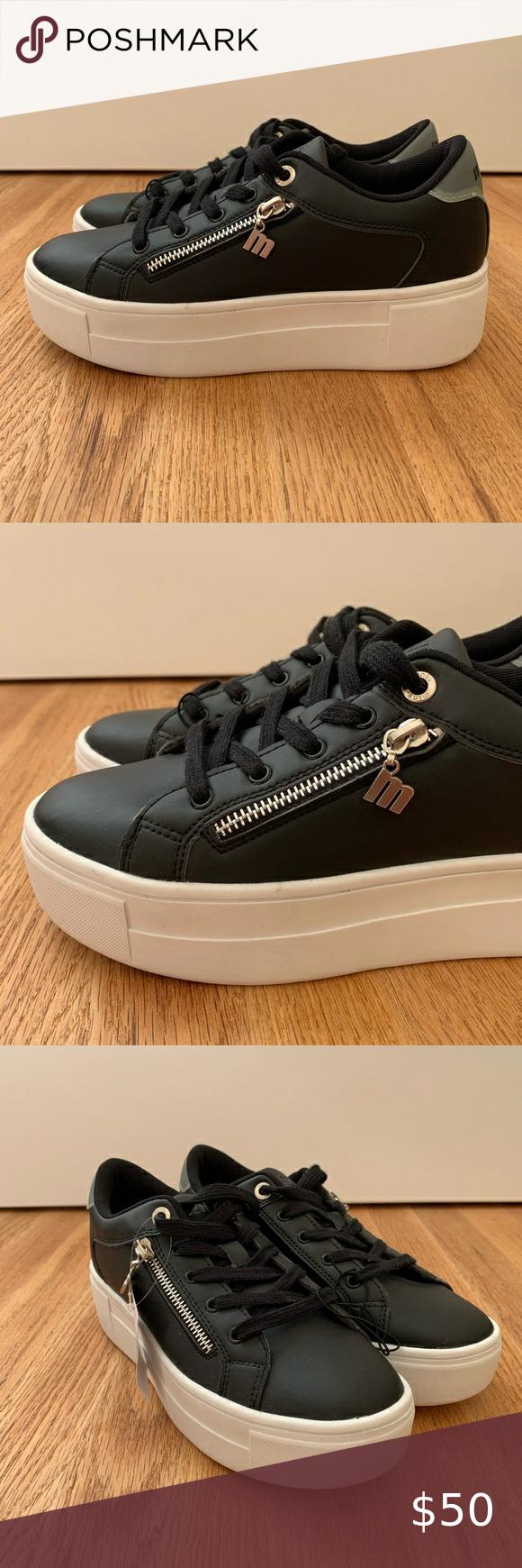 MTNG Platform Sneakers in 2020