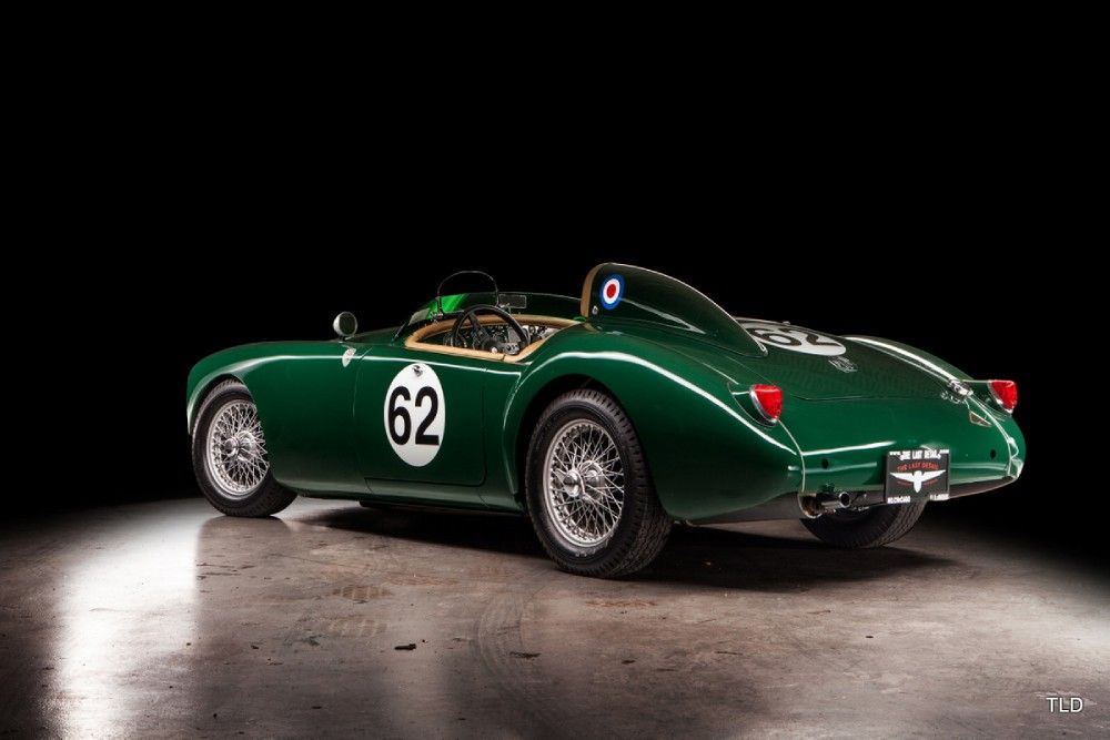 This 1959 MGA roadster was restored in the style of the LeMans and ...