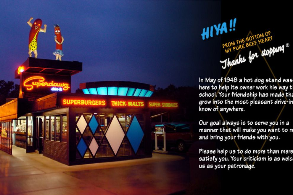 Superdawg Drive In At Milwaukee Ave Devon Nagle