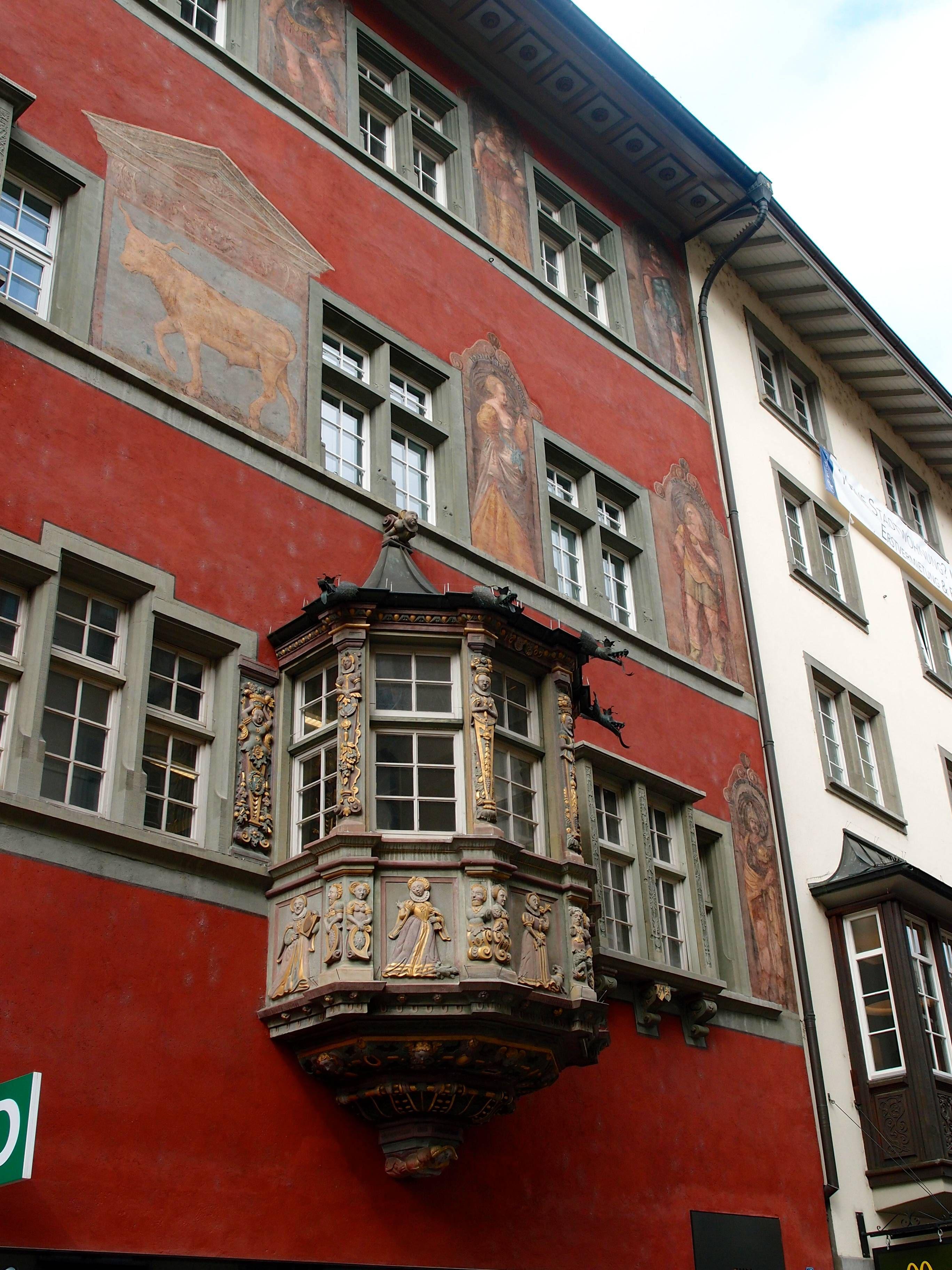 A Quick Stop in Schffhausen - Two Feet, One World   World, Switzerland,  Travel