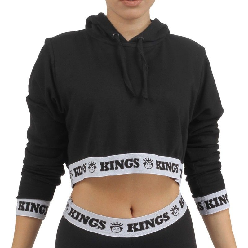 CROPPED DE MANGA LONGA KINGS - HOOD  50dc979245c5b