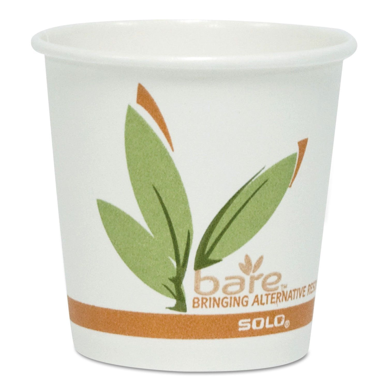 Solo Bare PCF 12-oz Hot Drink Cups