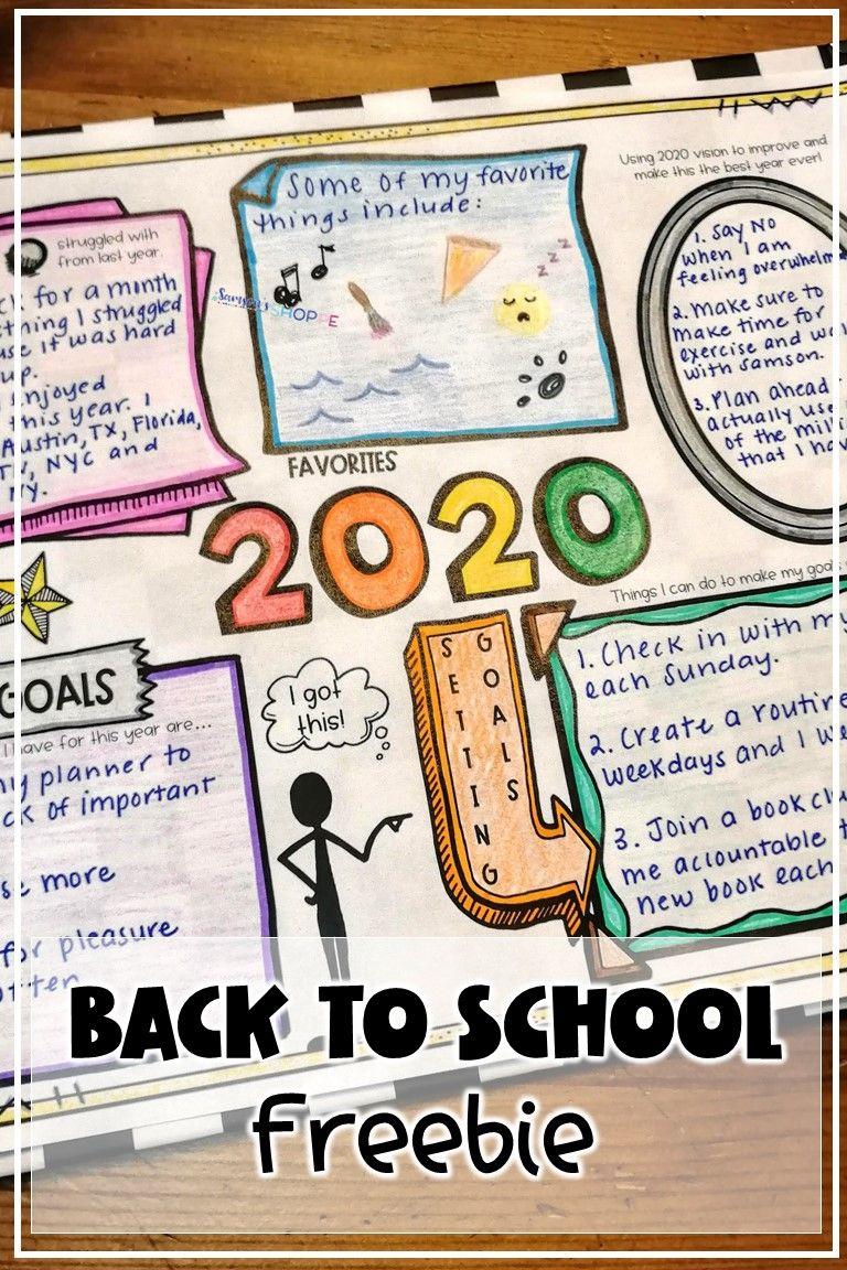 New Years 2020 FREE Activity Free activities, Activities