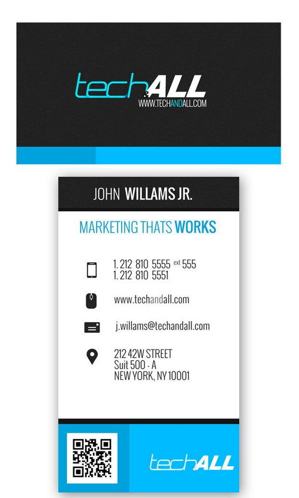 Corporate Business card .PSD Template | NameCard | Pinterest ...