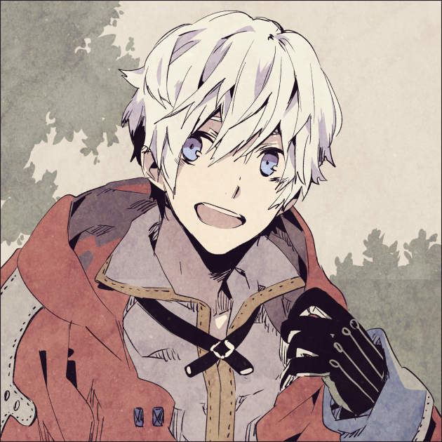 white hair. OMG. This is Antartica. Anime boys