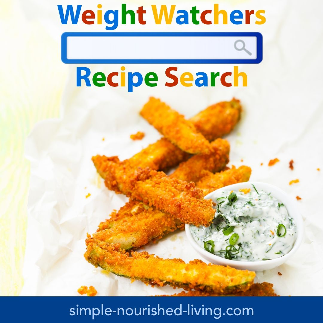 Weight Watchers Recipe Search With All The Best Weight Watchers - Blog cuisine weight watchers