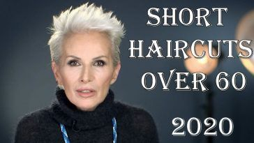 2020 short haircuts for women over 60 in 2020  short hair