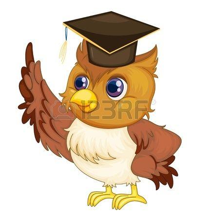 Buhos Animados De Graduación Owl Vector Owl Pictures Owl Books