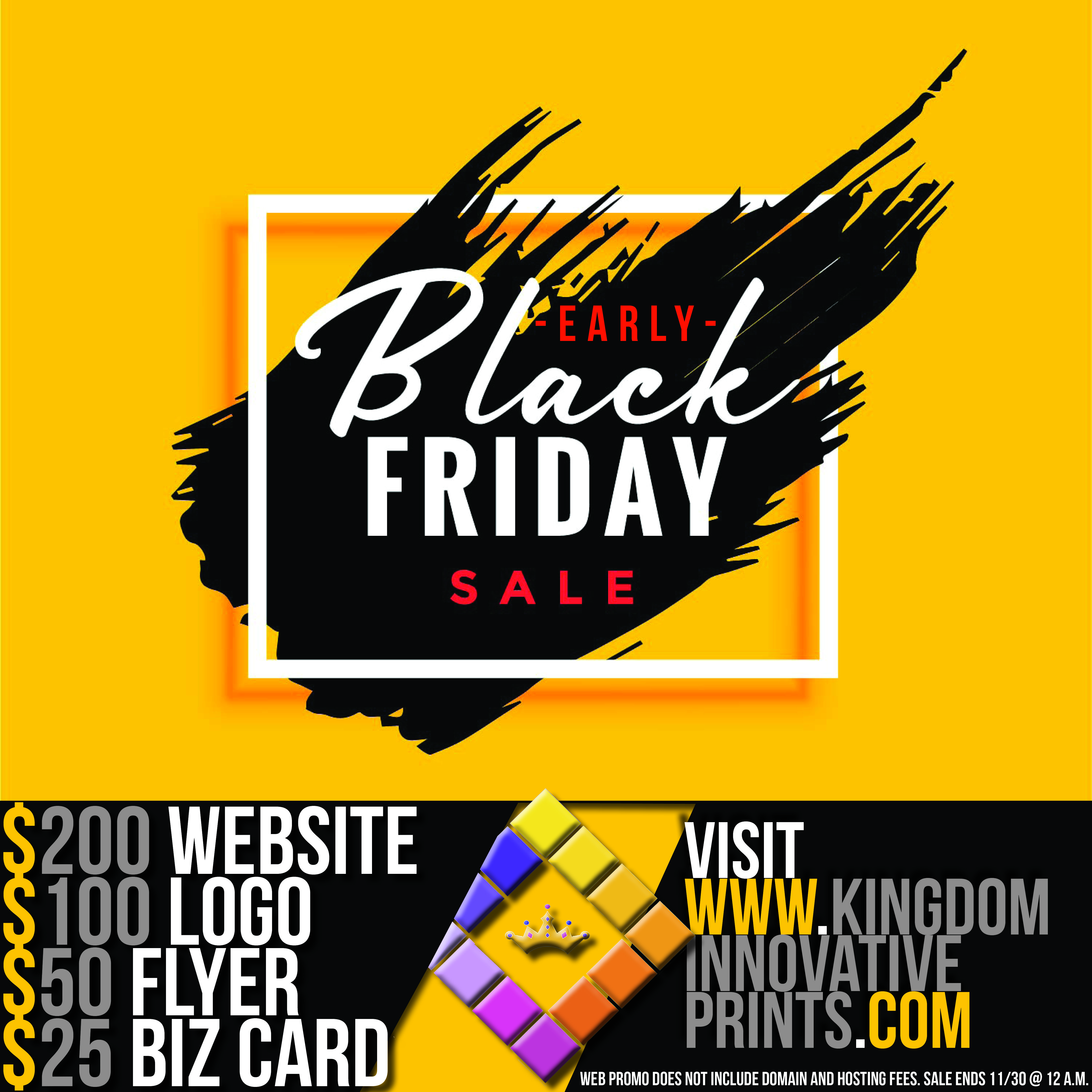 Get all your marketing materials now for discounted prices