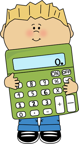 boy holding a giant calculator free clipart clipart pinterest rh pinterest com calculator clip art images graphing calculator clipart