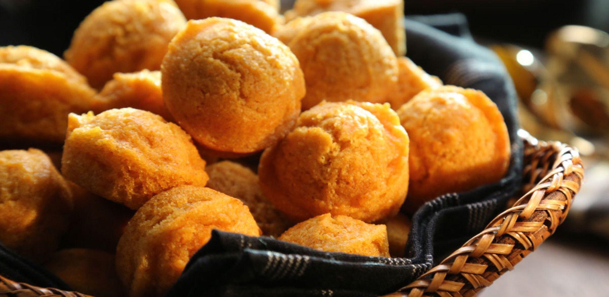 Spiced Mini Corn Muffins Recipe Food Network Recipes Mini Corn Muffins Dog Muffin Recipe