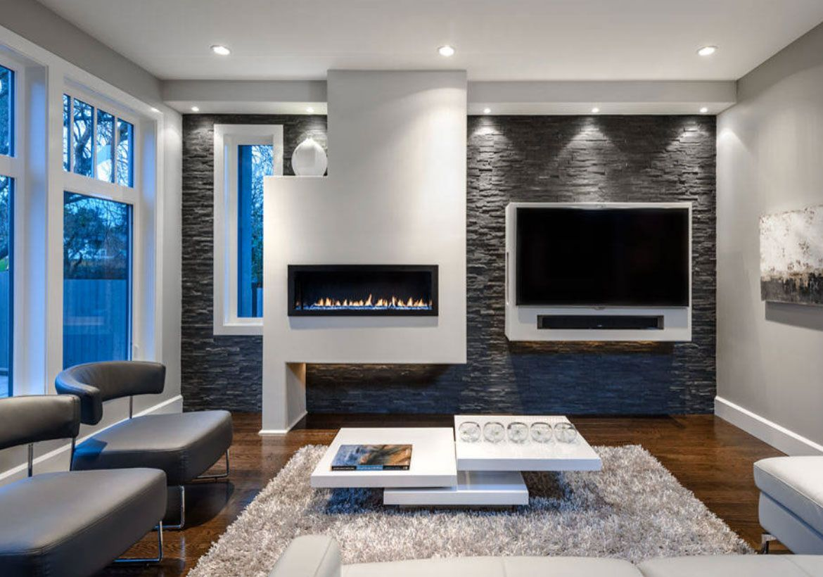 Modern Electric Fireplaces To Warm Your Soul Contemporary Living Room Design Family Room Design Contemporary Family Rooms