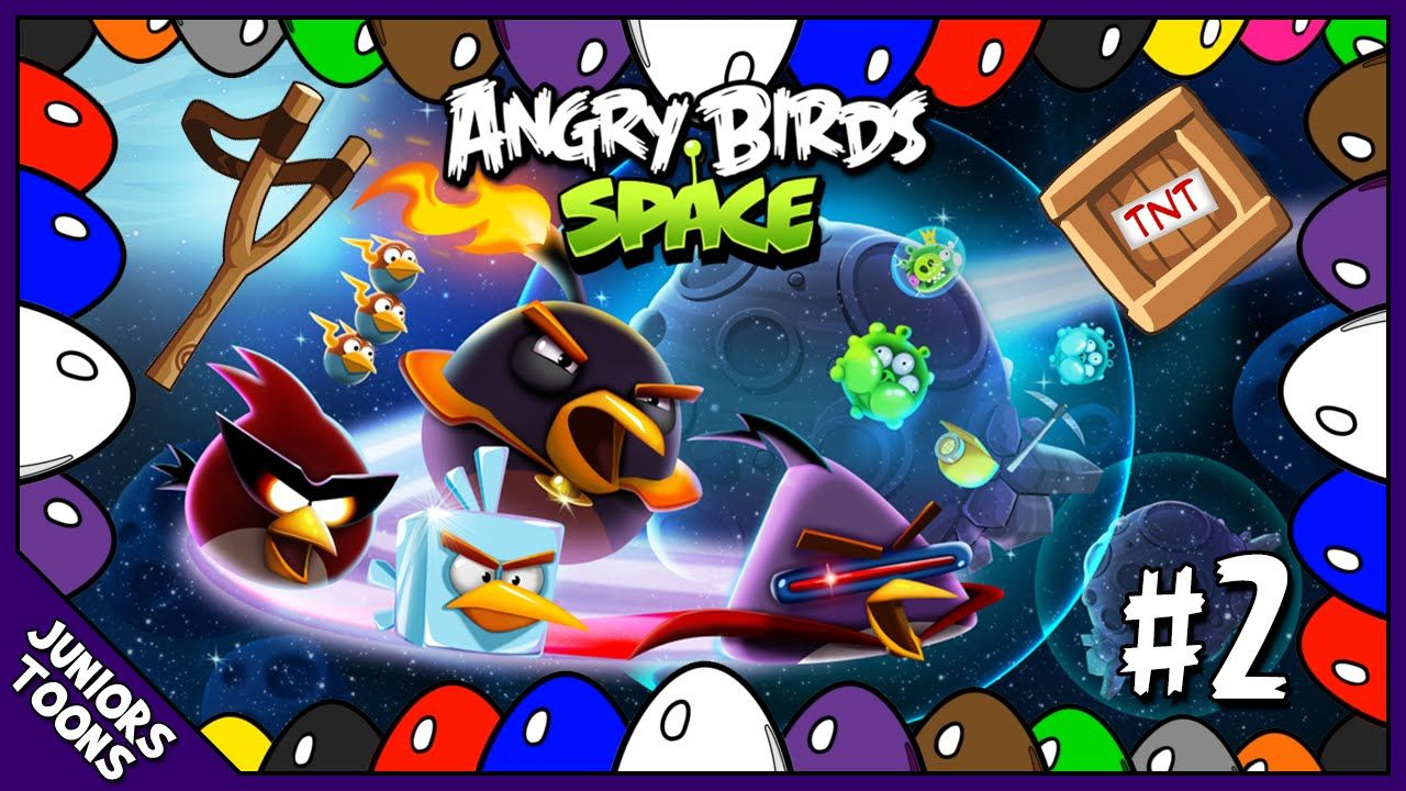 Surprise Eggs Angry Birds Space 2 Angry Birds Angry Birds