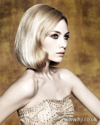 Sleek long bob    Hairstyle by: Edwin Johnston  Hairstyle picture by: Jack Eames  Salon: Cutting Room  Location: Vancouver, Canada