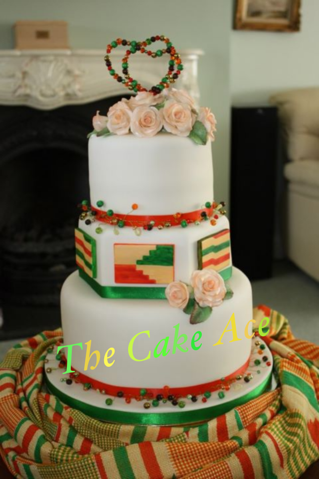 wedding cakes in ghana wedding cake inspired by the s ghanaian wedding 24646